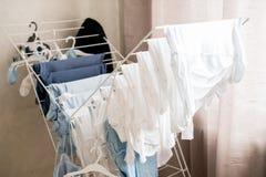 blanchisserie infantile photographie stock