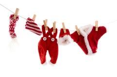 blanchisserie Santa de Claus image stock