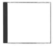 Blanck cd cover Stock Photos