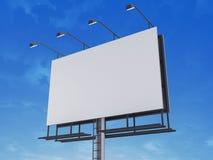 Blanck sign. 3d rendered illustration of a blanck sign Stock Photography