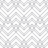 Blanco abstracto y Gray Light Chevron Geometric Pattern libre illustration