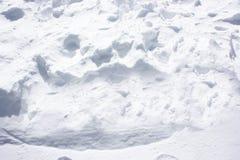 Blanco como la nieve Imágenes de archivo libres de regalías