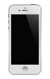 Blanco de Iphone 5 Foto de archivo