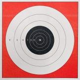 Blanco de la práctica del tiroteo Fotos de archivo libres de regalías