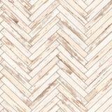 Blanco de madera inconsútil de la raspa de arenque de la textura del entarimado Foto de archivo