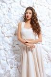 Blanco de vestido imagenes de archivo