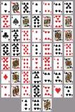 Blanco del póker del tiro al arco para el ejercicio ilustración del vector