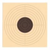 Blanco del tiroteo de la cartulina Fotografía de archivo libre de regalías