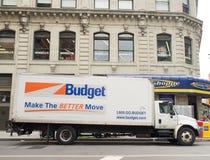 Blanco 2000-2013 DuraStar internacional para el alquiler del presupuesto Fotos de archivo libres de regalías