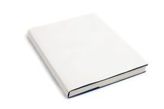 Blanco en blanco de la cubierta de libro Imágenes de archivo libres de regalías
