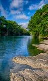 Blanco-Fluss Lizenzfreie Stockbilder