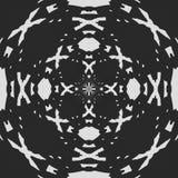 Blanco Modelo blanco y negro regular de la cortina alineado en huevos Ejemplo rico de semitono del modelo Negro y wh abstractos d ilustración del vector