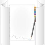 Blanco pagina Royalty-vrije Stock Foto
