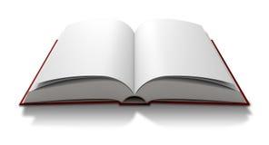Blanco pagina Open Boek stock illustratie