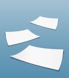 Blanco pagina's Stock Afbeeldingen