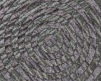Blanco redonda abstracta en piedra, diversidad de la textura, Fotografía de archivo