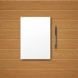 Blanco vacie Imágenes de archivo libres de regalías
