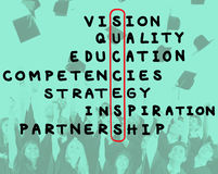 Blanco Victory Strategy Vision Concept de la meta del éxito Foto de archivo libre de regalías