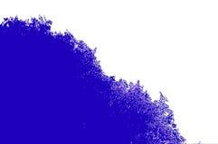 Blanco y azul Foto de archivo