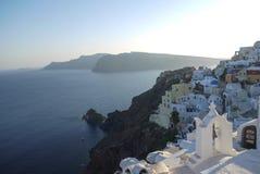 Blanco y azul Imagen de archivo libre de regalías