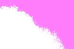 Blanco y color de rosa Imágenes de archivo libres de regalías