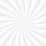 Blanco y gris irradia el fondo, vector encariñado ilustración del vector