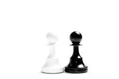 Blanco y negro Imagen de archivo