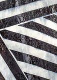 Blanco y negro abstracto Fotos de archivo libres de regalías