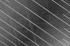 Blanco y negro de textura del modelo del techo Foto de archivo libre de regalías