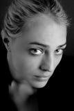 Blanco y negro triste Imagen de archivo libre de regalías
