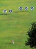 Blancos para las flechas. imagen de archivo libre de regalías