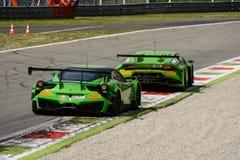 Blancpain 2015 Ferrari and Lamborghini at Monza Stock Photo
