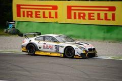 Blancpain GT serie BMW M6 ściga się przy Monza Obraz Stock