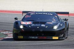 Blancpain GT serier sprintar koppen Arkivfoto