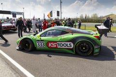 Blancpain GT serier sprintar koppen Arkivbilder