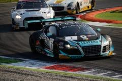 Blancpain serie Audi 2015 R8 LMS ultra på Monza Royaltyfria Foton