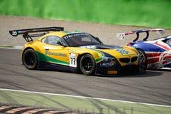 Blancpain serie 2015 BMW Z4 GT3 przy Monza Obraz Royalty Free