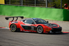 Blancpain Series 2015 Ferrari 458 Italia GT3 at Monza Stock Images