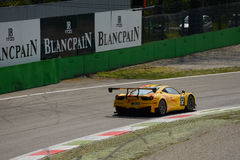Blancpain Series 2015 Ferrari 458 Italia at Monza Royalty Free Stock Photo