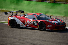 Blancpain Series 2015 Ferrari 458 Italia at Monza Royalty Free Stock Images