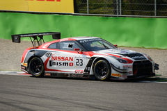Blancpain Series 2015 Nissan GT-R Nismo GT3 at Monza Royalty Free Stock Photo