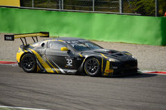 Blancpainreeks 2015 Aston Martin Vantage in Monza Royalty-vrije Stock Fotografie