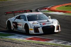 Blancpainreeks 2015 Audi R8 LMS in Monza Royalty-vrije Stock Foto's