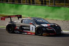 Blancpainreeks 2015 Audi R8 LMS ultra in Monza Stock Foto