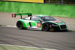 Blancpainreeks 2015 Audi R8 LMS ultra in Monza Stock Fotografie