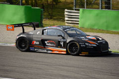 Blancpainreeks 2015 Audi R8 LMS ultra in Monza Stock Afbeelding
