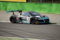 Blancpainreeks 2015 Audi R8 LMS ultra in Monza Royalty-vrije Stock Afbeeldingen