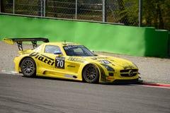 Blancpainreeks 2015 Mercedes SLS AMG in Monza Royalty-vrije Stock Foto