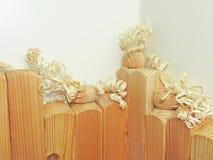Blancs en bois pour le découpage image stock