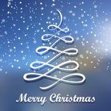 bland annat treevektor för jul eps8 glad greeting för kortjul Bakgrund för glad jul för materiel för din design royaltyfri illustrationer